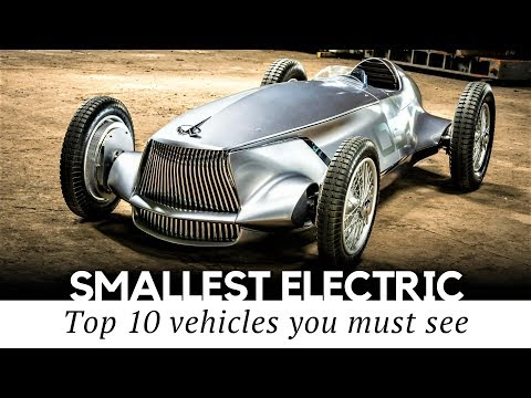 10 Surprisingly Small Electric Cars That Exist in 2018 (Review of Prices and Specifications)