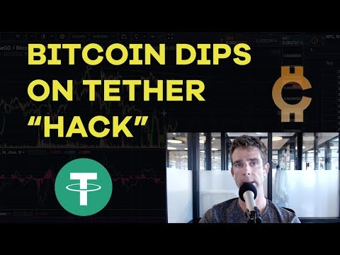 "Bitcoin Dips On Tether ""Hack"" - Bitcoin Gold Strategy, 2018 Predictions, Masternodes - CMTV Ep90"