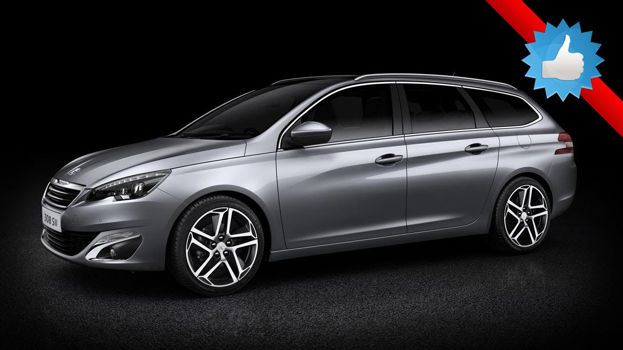 2014 Peugeot 308 SW with 610-liter cargo capacity - YouTube
