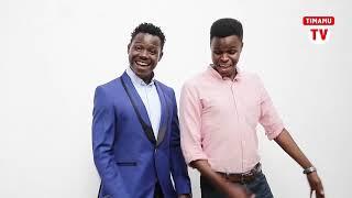 UTACHEKA!!Bwana Mjeshi ala shavu wasafi TV