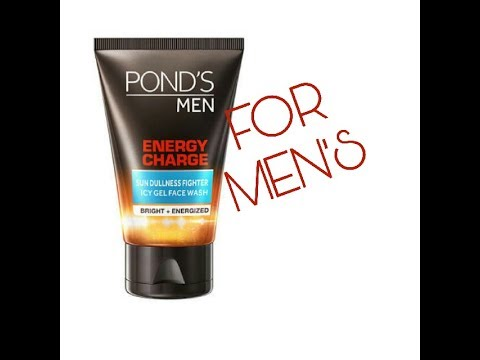 Pond's men energy charger face wash