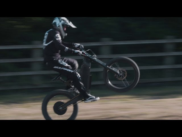 Stealth Electric Bikes - The Stealth F-37 takes to the MX track.