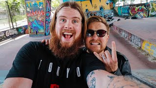 Kickflips with van Coke | Day 9 of Daily Videos