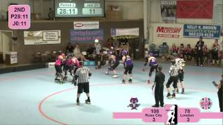 WFTDA.tv Presents: Rose City Rollers - Wheels of Justice v London Rollergirls