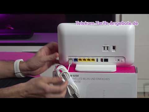 Telekom Speedport W925V für Telekom MagentaZuhause (DSL, VDSL, Glasfaser)