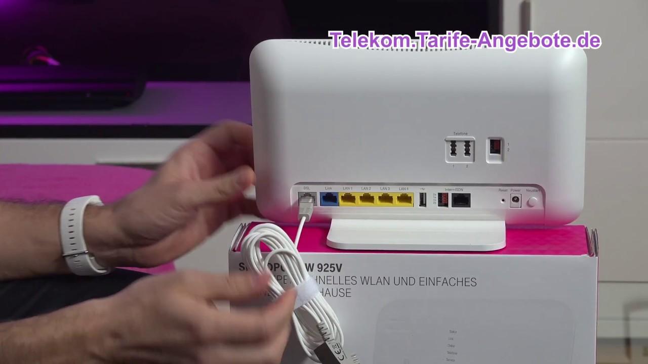 Telekom Speedport W8V für Telekom MagentaZuhause (DSL, VDSL, Glasfaser)