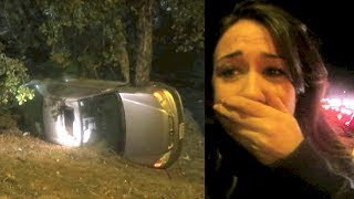 my sister got in a car accident   vlogmas day 5