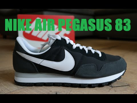 los angeles fb45c fb936 NIKE Air Pegasus 83 Unboxing   On Feet