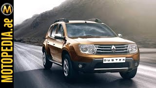 2014 Renault Duster Review -رينو داستر  - Dubai UAE Car Review by Motopedia.ae