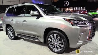 2017 Lexus LX 570 - Exterior and Interior Walkaround - 2016 LA Auto Show