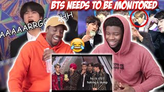 BTS Being Chaotic Crackheads in Award Shows (REACTION)