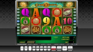 Слот игра CASH MACHINE(, 2013-03-08T21:22:42.000Z)