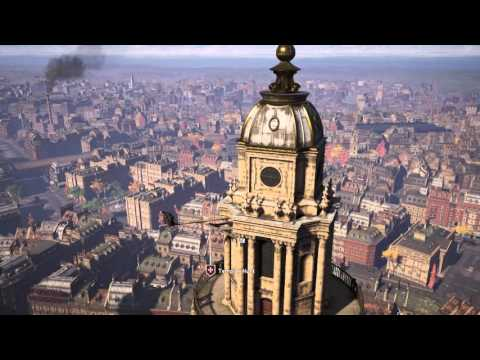 Assassin's Creed: Syndicate - Synchronize St Paul's Cathedral (Fast Travel Unlocked) Evie Gameplay