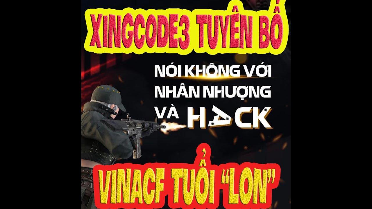 """❤️[XIGNCODE 3] VTCONLINE tuyên bố """"VINACF"""" TUỔI """" BƯỚM ❤️ SHADY"""