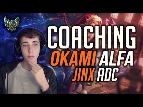 Coaching Okami Alfa • Decision Making, Farm, Esperienza.. • League of Legends ITA