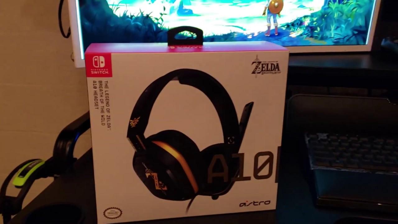dfa5997a192afa The Legend Of Zelda Astro A10 Unboxing - YouTube