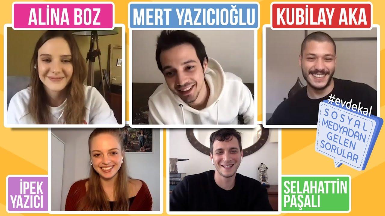 Aşk 101 Oyuncuları Sosyal Medyadan Gelen Soruları Cevaplıyor! Süper Kadro!