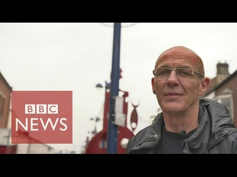 "Redcar: ""The people of this town won't just let it die"" (Panorama) - BBC News"