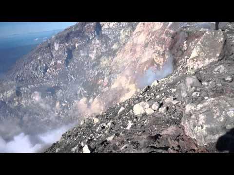 Mayon Volcano summit