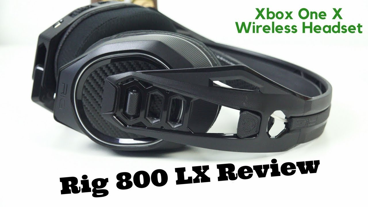 Plantronics RIG 800 LX Wireless Gaming Headset for Xbox One X!