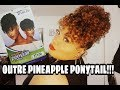 BOMB OUTRE PINEAPPLE PONYTAIL SOFTIE + HOW TO STYLE IT!!!