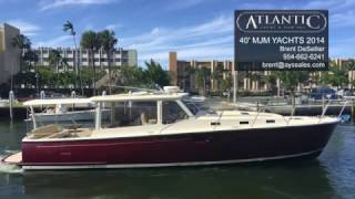 Beautiful 2014 Pre-Owned MJM 40z Boat For Sale