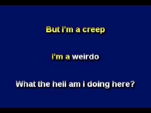 Karaoke of Creep by Radiohead As A Ballad by Allen Clewell