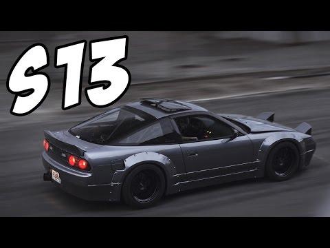 Nissan s13 Compilation | Burnouts - Exhausts