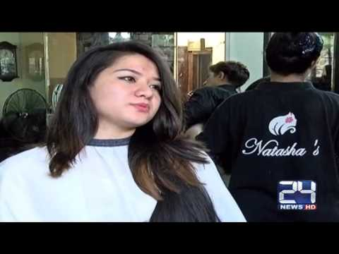 24 Report: Human hair extension fashion increasing in Islamabad