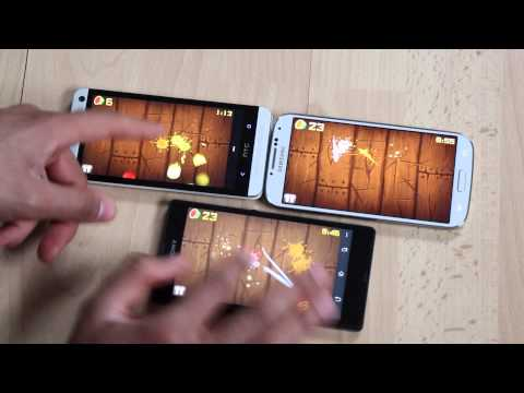 BATTERY TEST Galaxy S4 vs HTC One vs Xperia Z