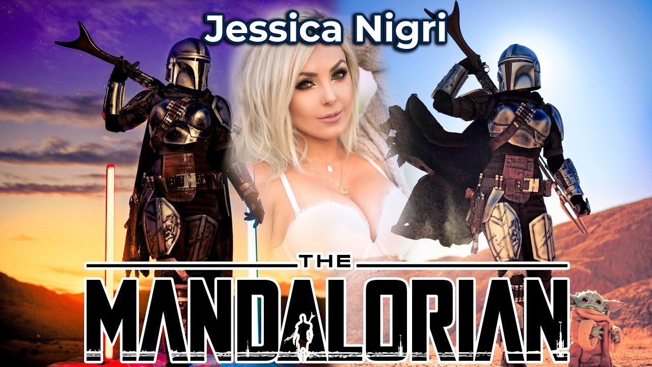 The Mandalorian Cosplay Photoshoot With Jessica Nigri
