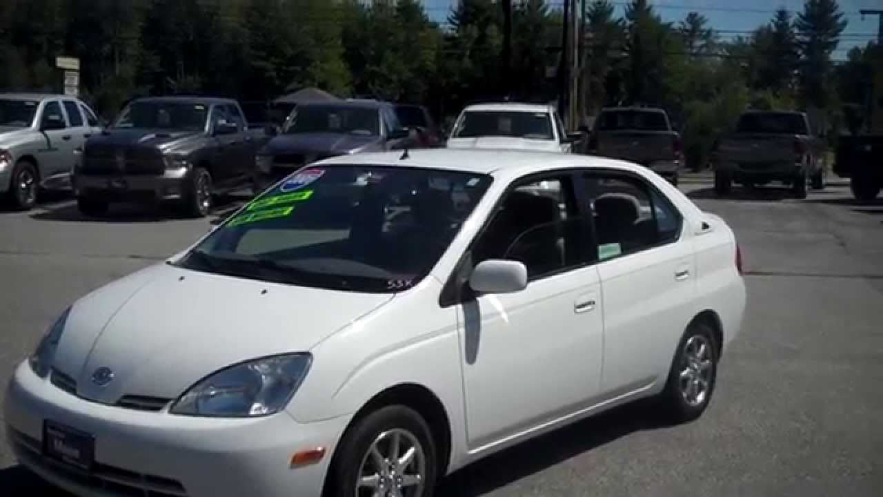 2001 toyota prius first one sold in maine at southern for Southern maine motors saco maine
