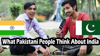WHAT PAKISTANI PEOPLE THINK OF INDIA? This video will answer | Social Experiment | Funky Dudes