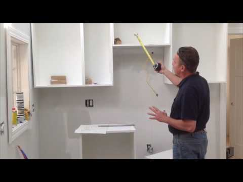 How To Assemble Amp Install Ikea Sektion Wall Cabinet Youtube