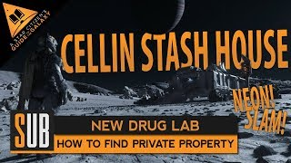 "[Obsolete PTV3] How to Find The Cellin Stash House ""Private Property"" Drug Lab - Star Citizen 3.5"