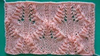 Ажурный спицами - Openwork knitting needles