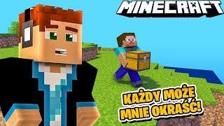 MINECRAFT, ale KAŻDY MOŻE MNIE OKRAŚĆ! | Minecraft Survival 1.14 #01