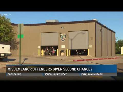 Gregg County misdemeanor changes