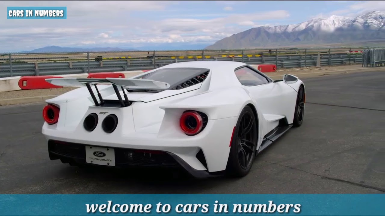 Ford Gt Performance Numbers Price
