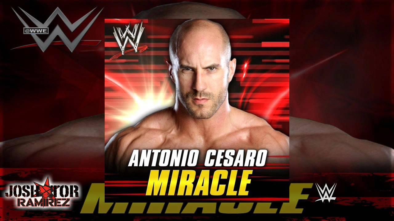 WWE: Miracle (Antonio Cesaro) By Jim Johnston