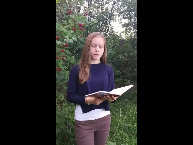 Изображение предпросмотра прочтения – ТатьянаКалина читает произведение «Заплаканная осень , как вдова...» А.А.Ахматовой