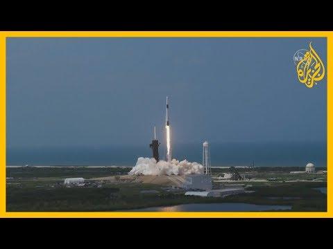 ناسا وسبيس إكس تطلقان بنجاح كبسولة تحمل رائدي فضاء أمريكيين إلى محطة الفضاء في أول رحلة منذ 9 سنوات  - نشر قبل 13 ساعة