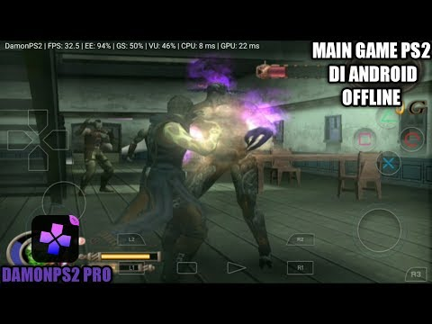 Cara Bermain Game GOD HAND PS2 Di Android | DamonPS2 Pro Emulator
