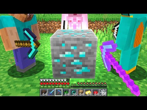 Minecraft UHC But There's Cursed DIAMOND ORE At 0,0...