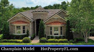 New Luxury Model Home Tour  4154 sq ft   877990 Base Price   Sanford  Orlando FL Homes
