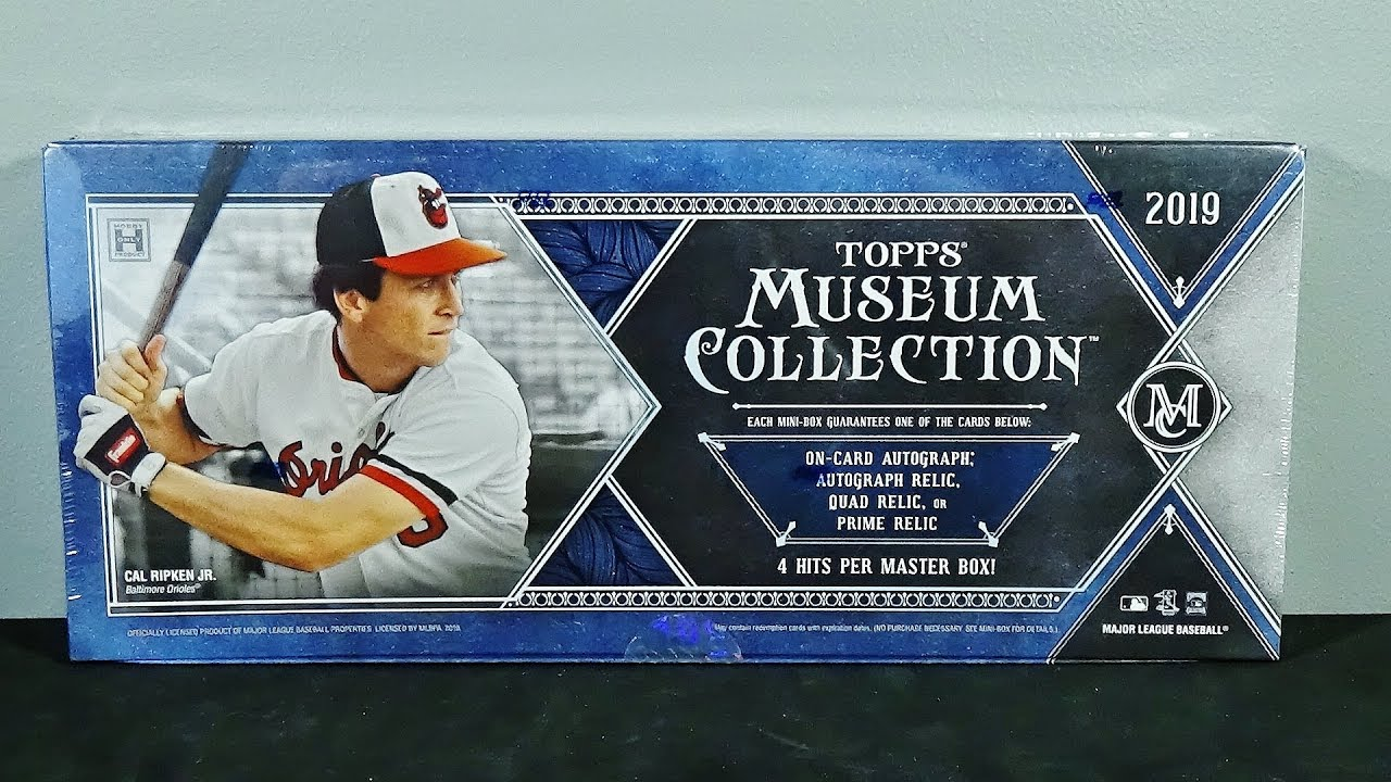 2019 Topps Museum Collection Baseball Hobby Box Break Amazing