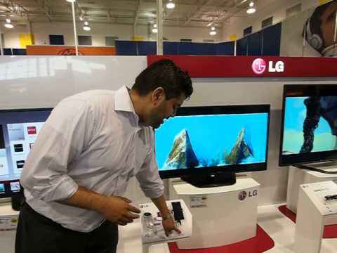 LG Canada's New Smart TV Display At Best Buy