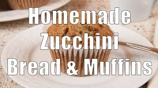Zucchini Bread Or Muffins (med Diet Episode 9)