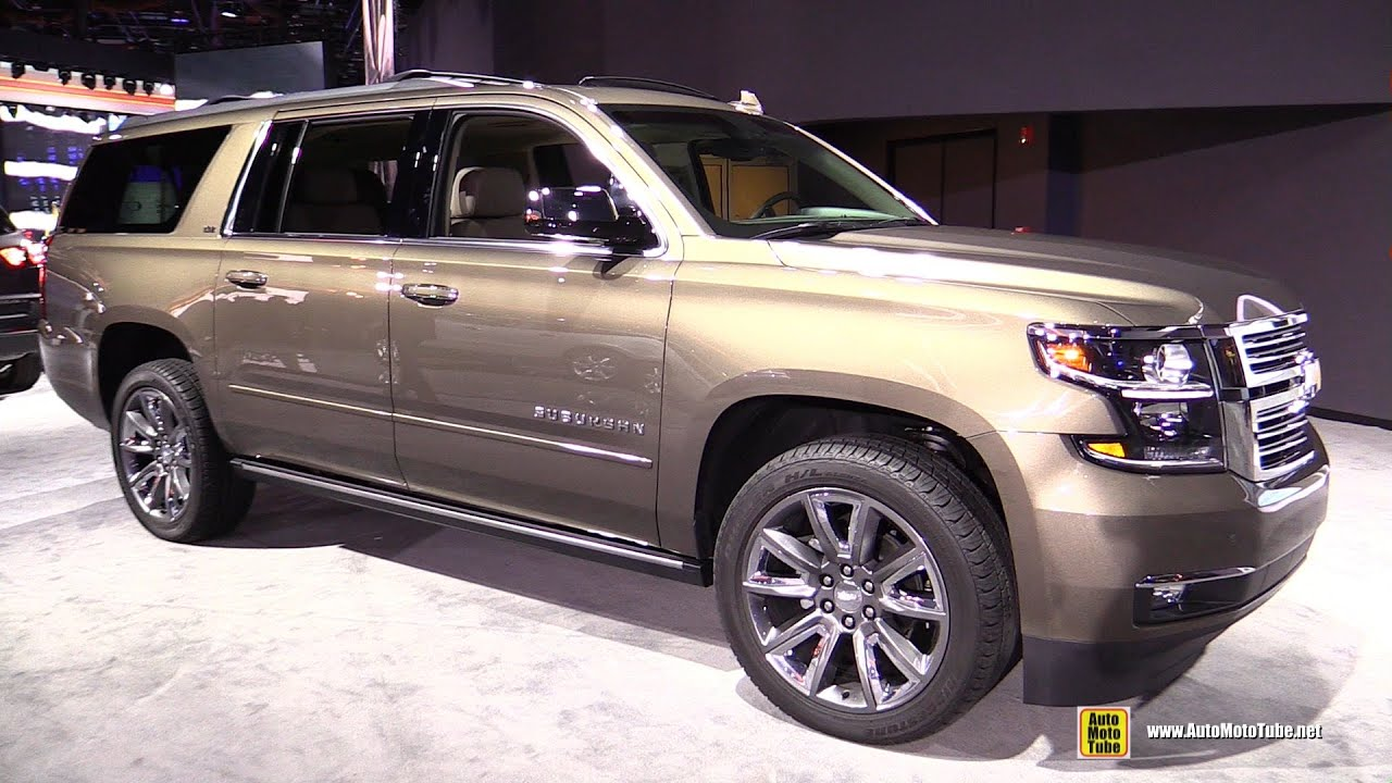 chevrolet tahoe chevy vs suburban comparisons
