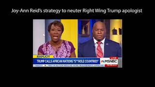 Joy Ann Reid's Strategy causes Trump apologist pastor to implode then she throws him off air